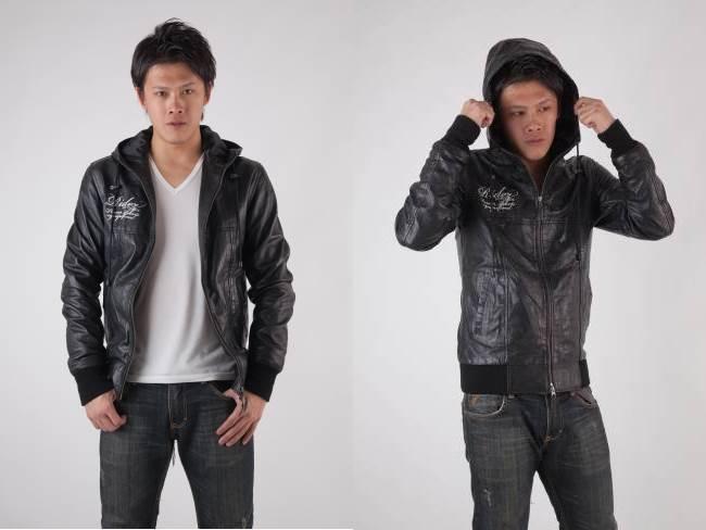 【RIDEZ】真皮外套 羊皮連帽 RLJ2406 - 「Webike-摩托百貨」