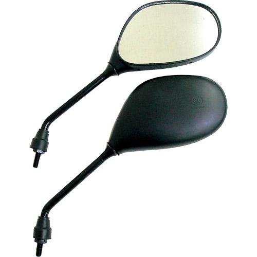 【MIRAX】MIRAX19 橢圓形後視鏡 10mm(逆牙) - 「Webike-摩托百貨」