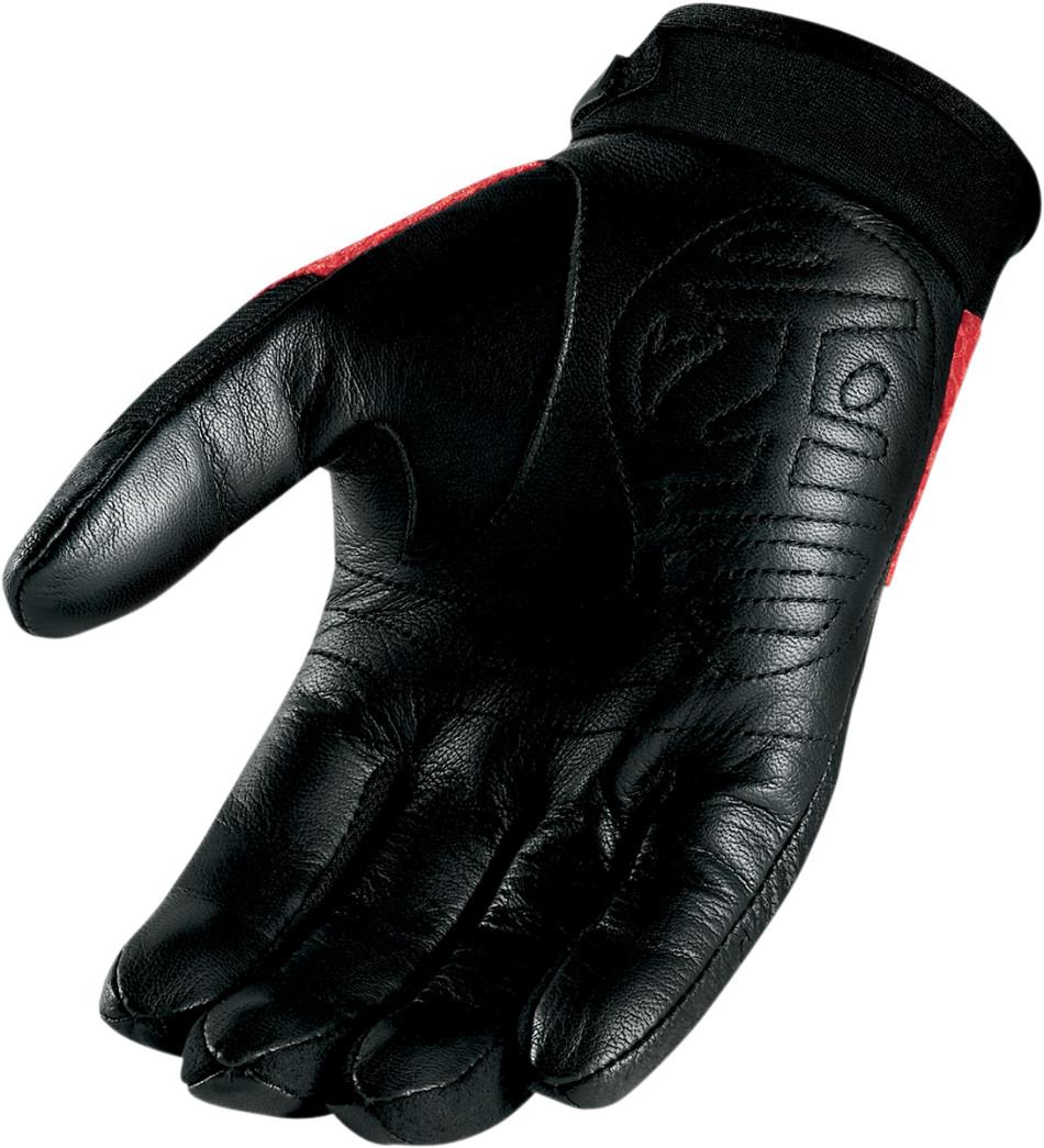【ICON】手套 GLOVE ICON 29ER RED - 「Webike-摩托百貨」