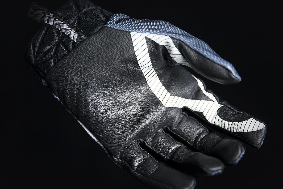 【ICON】手套 GLOVE ANTHEM BLEND GRY - 「Webike-摩托百貨」