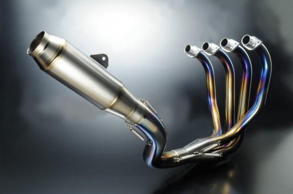 【YELLOW CORN】 4-1  鈦合金全段排氣管 - 「Webike-摩托百貨」