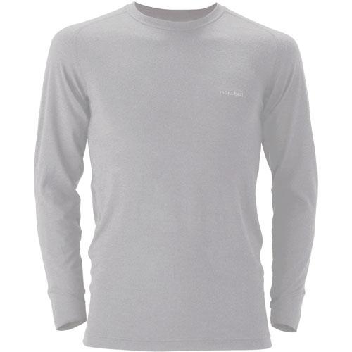 【mont-bell】Super Merino 羊毛L.W.圓領衫 Mens #1107263 - 「Webike-摩托百貨」