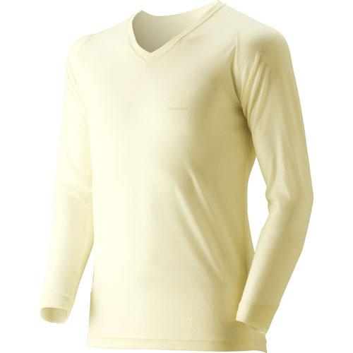 【mont-bell】Super Merino 羊毛 L.W.V領衫 Mens #1107265 - 「Webike-摩托百貨」