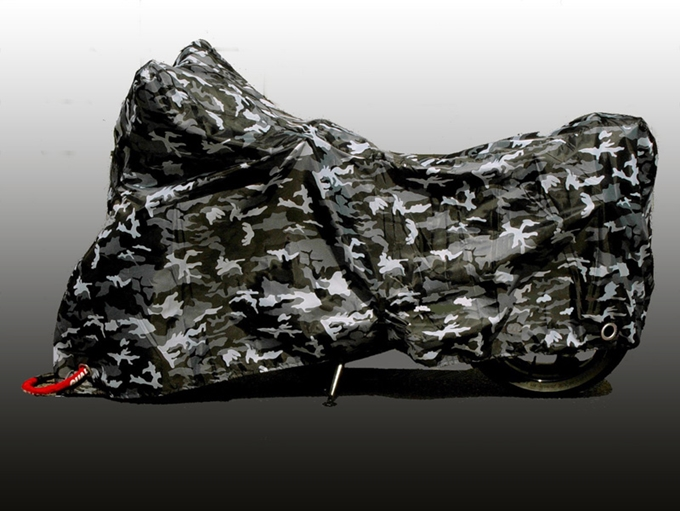 Camouflage Pattern Motorcycle Cover