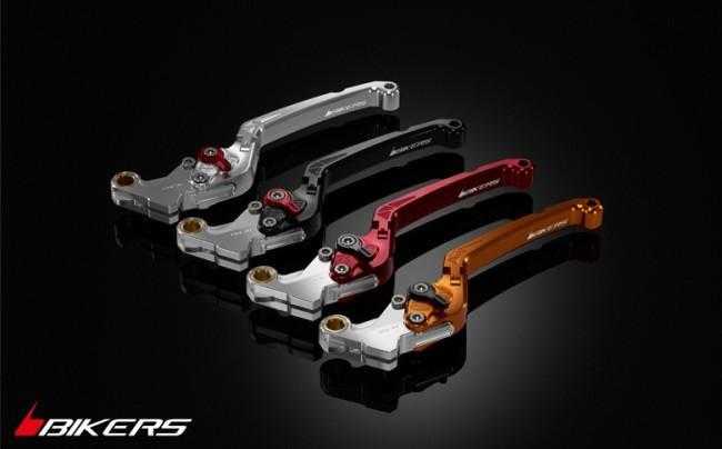 【BIKERS】Folding Adjustable Brake Lever 6段調整型 可潰式離合器拉桿 - 「Webike-摩托百貨」