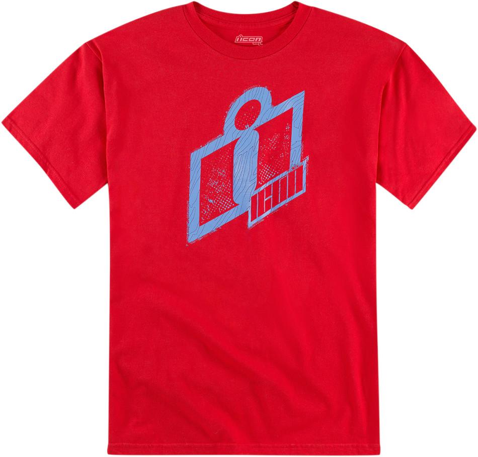 【ICON】T恤 TEE DOUBLE UP RED - 「Webike-摩托百貨」