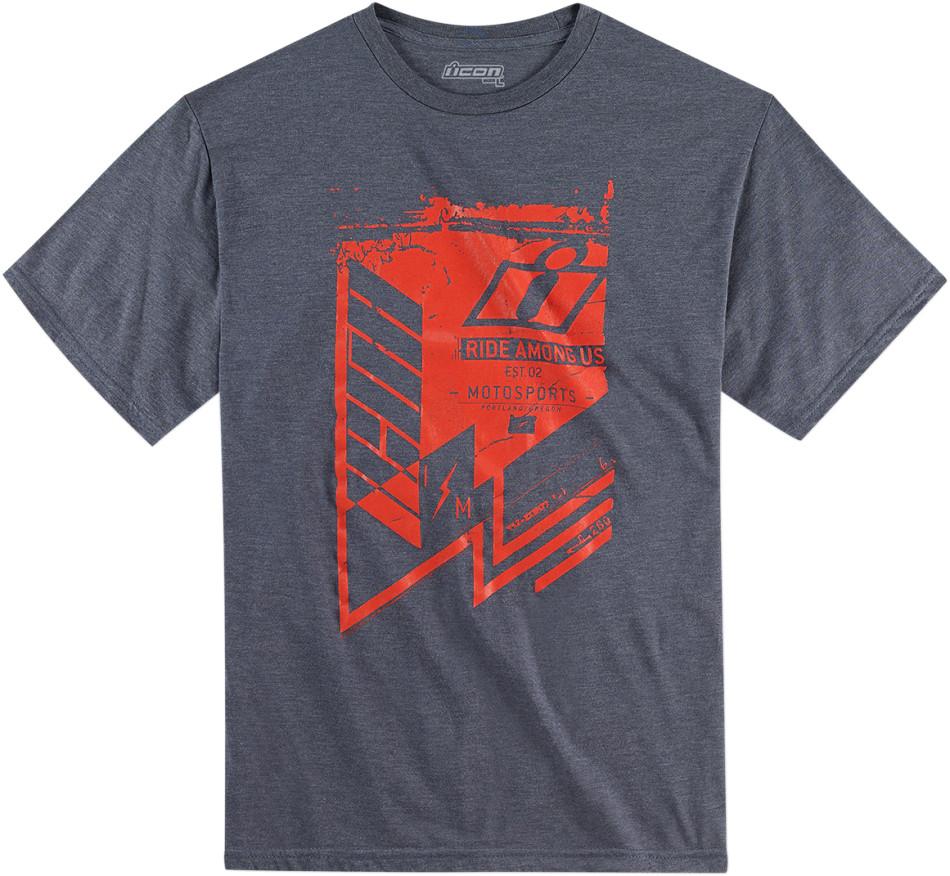 【ICON】T恤 TEE SHEAR NAVY - 「Webike-摩托百貨」