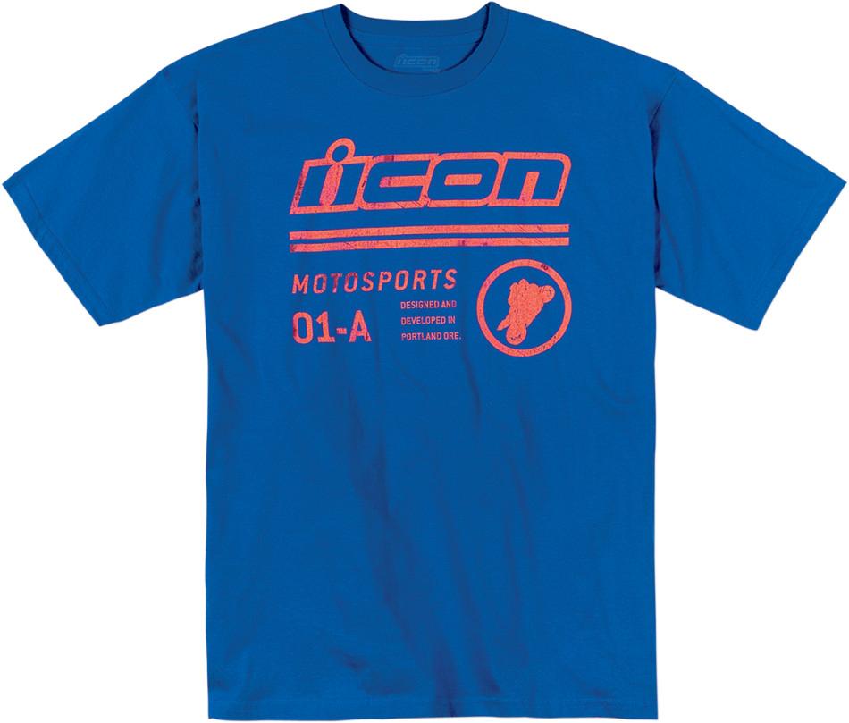 【ICON】T恤 TEE FLYRYTE ROYAL - 「Webike-摩托百貨」