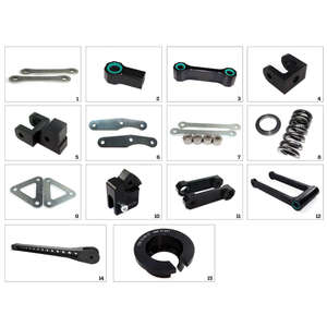 TECHNIUM ジャックアップキット 9-タイプ SUZUKI GSX-S1000/S1000F用(Tecnium Jack Up Kit 9-Type Suzuki GSX-S1000 / S1000F【ヨーロッパ直輸入品】)