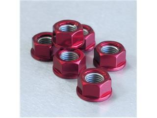【PRO BOLT】墊圈頭螺帽 M12x1.25 Pro-bolt 鋁合金 紅色 6個一組【歐洲進口商品】 - 「Webike-摩托百貨」