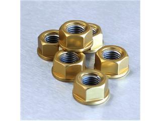 【PRO BOLT】墊圈頭螺帽 M12x1.25 Pro-bolt 鋁合金 金色 6個一組【歐洲進口商品】 - 「Webike-摩托百貨」