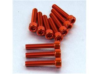 【PRO BOLT】內六角螺絲套件 M6X1X30MM Pro-Bolt 鋁合金 橘色 10個一組【歐洲進口商品】 - 「Webike-摩托百貨」
