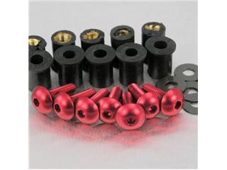 【PRO BOLT】螺絲套件 for Pro-Bolt 鋁合金 紅色 bubble 8個一組【歐洲進口商品】 - 「Webike-摩托百貨」