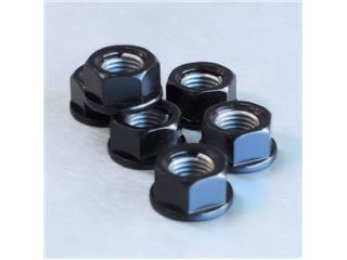 【PRO BOLT】墊圈頭螺帽 M10x1.25 Pro-bolt 鋁合金 黑色 6個一組【歐洲進口商品】 - 「Webike-摩托百貨」