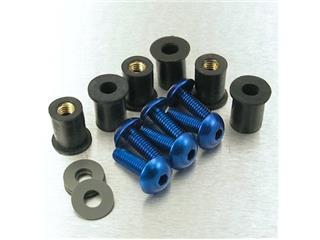 【PRO BOLT】螺絲套件 for Pro-Bolt 鋁合金 藍色 bubble 6個一組【歐洲進口商品】 - 「Webike-摩托百貨」