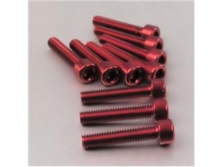【PRO BOLT】內六角螺絲套件 M6X1X40MM Pro-Bolt 鋁合金 紅色 10個一組【歐洲進口商品】 - 「Webike-摩托百貨」