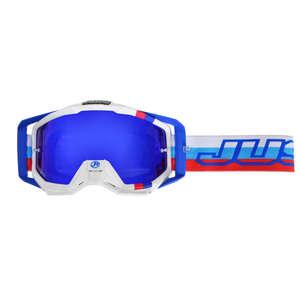JUST1 ジャストワンJUST1 IRISH M2 ゴーグル ブルー/レッド/ホワイト【JUST1 Iris M2 Goggle Blue/Red/White】【ヨーロッパ直輸入品】