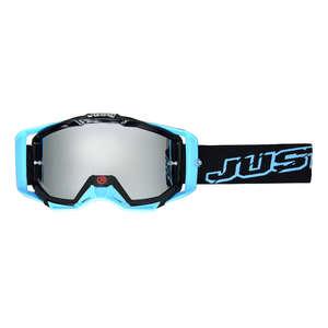 JUST1 ジャストワンJUST1 IRISH ゴーグル ネオンブラック/ブルー【JUST1 Iris Neon Goggle Black/Blue】【ヨーロッパ直輸入品】