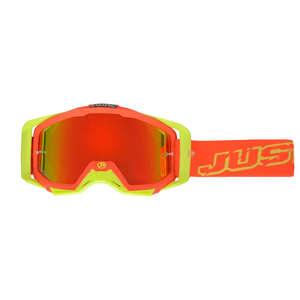 JUST1 ジャストワンJUST1 IRISH ゴーグル ネオンレッド/イエロー【JUST1 Iris Neon Goggle Red/Yellow】【ヨーロッパ直輸入品】