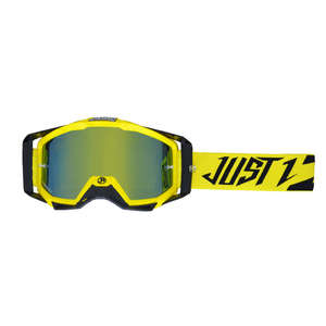 JUST1 ジャストワンJUST1 IRISH フラッシュゴーグル イエロー/ブラック【JUST1 Iris Flash Goggle Yellow/Black】【ヨーロッパ直輸入品】