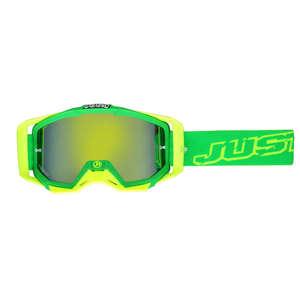 JUST1 ジャストワンJUST1 IRISH ゴーグル ネオングリーン/イエロー【JUST1 Iris Neon Goggle Green/Yellow】【ヨーロッパ直輸入品】