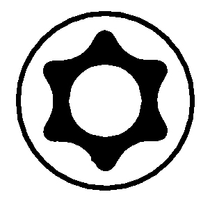 【DAYTONA】星型內六角中心附孔起子頭&板手組 - 「Webike-摩托百貨」