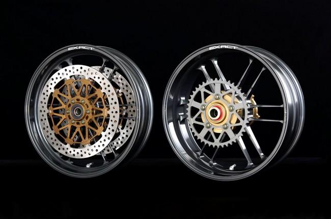 【ADVANTAGE】EXACTII 全鍛造鋁合金輪框 (附煞車碟盤) - 「Webike-摩托百貨」