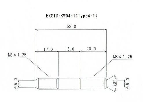 【βTITANIUM】Kawasaki車 通用型排氣管雙頭螺絲 Type 4-1 - 「Webike-摩托百貨」