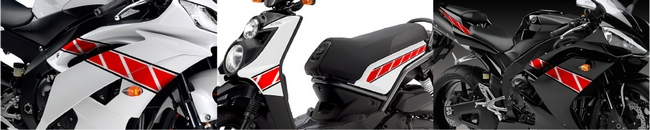 【MDF】泛用Electronic flash 貼紙 Large 型式 LRSet - 「Webike-摩托百貨」