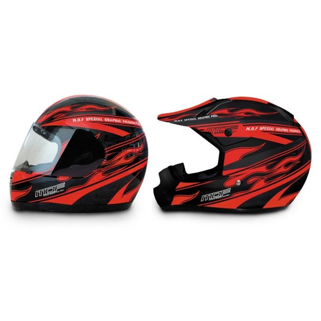 【MDF】安全帽貼紙 Fire road 式樣 - 「Webike-摩托百貨」