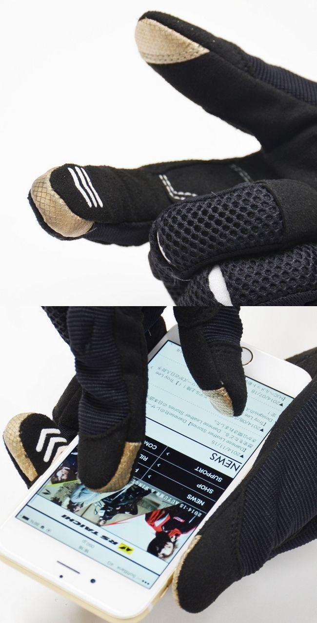 【RS TAICHI】橡膠關節防護網格手套 - 「Webike-摩托百貨」
