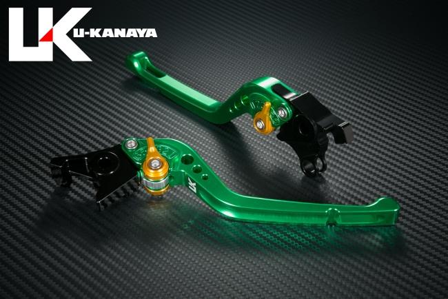 【U-KANAYA】GP Type鋁合金切削加工拉桿組[VERSYS1000/Ninja1000専用] - 「Webike-摩托百貨」