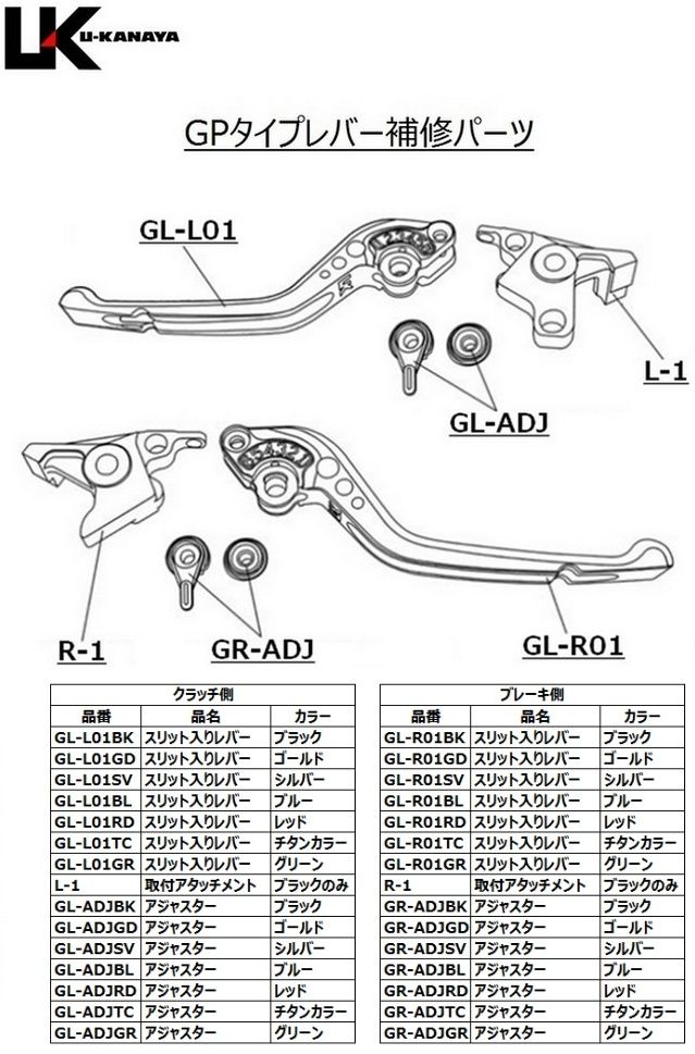 【U-KANAYA】GP Type 鋁合金切削加工拉桿組 [INTEGRA (RC62)/FAZE (MF11)専用] - 「Webike-摩托百貨」