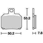 ストリートエクセルシンター 730LS ブレーキパッド