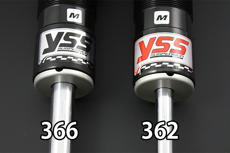 YSS ワイエスエス:SPORTS LINE リアツインショック 【Gシリーズ】 G366