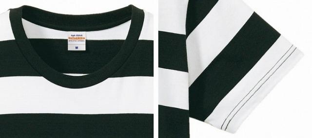 【MOTOBLUEZ】5oz 粗橫條紋 短袖T恤 - 「Webike-摩托百貨」