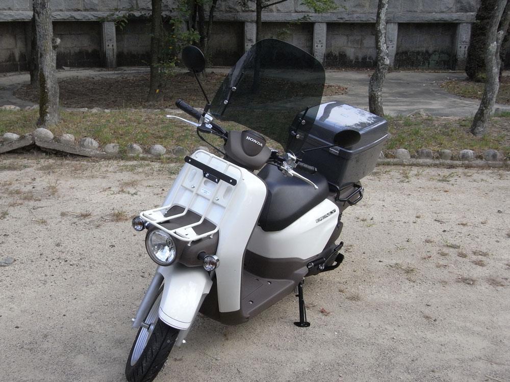 【World Walk】(50cc以下機車用) 通用風鏡 WS-04G smoke  附後視鏡轉接頭 - 「Webike-摩托百貨」
