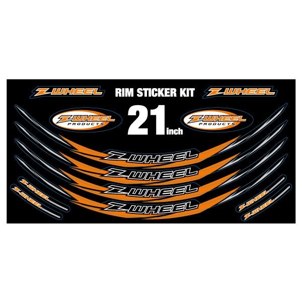 【Z-WHEEL】後輪框貼紙組 17-19吋 - 「Webike-摩托百貨」