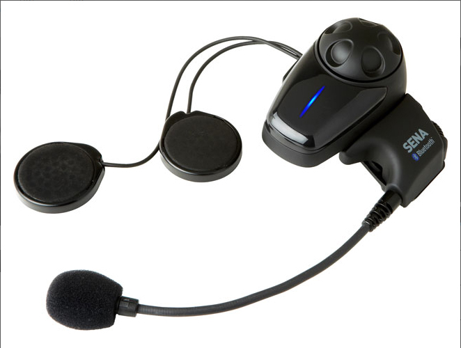SMH10 Bluetooth Head Set/Intercom with Open Helmet