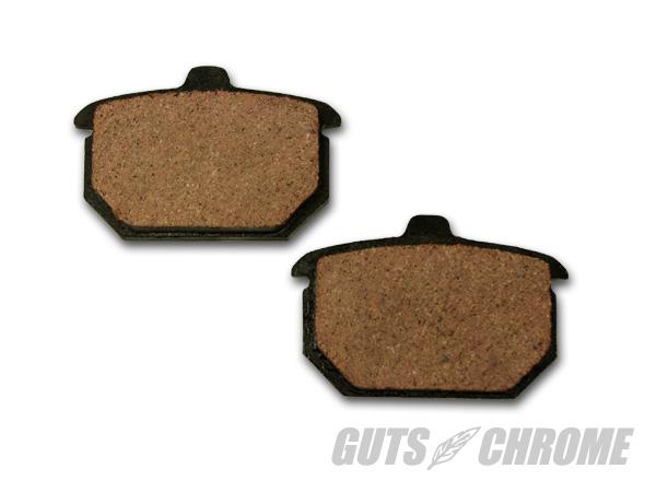 【GUTS CHROME】VT 煞車來令片 (Shovel Rear用 82-87 Organic) - 「Webike-摩托百貨」