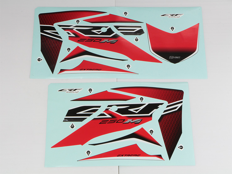 【ENDURANCE】貼紙組套 (紅色版本) - 「Webike-摩托百貨」