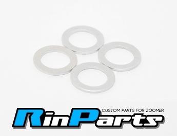 【Rin Parts】油管螺絲用鋁合金墊片 - 「Webike-摩托百貨」