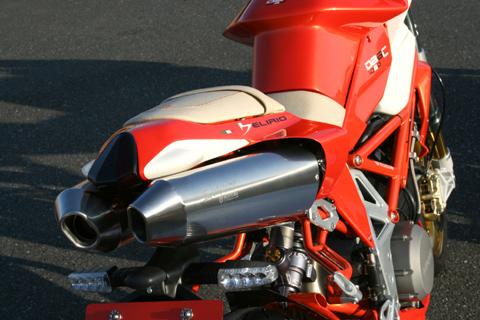 【MOTO CORSE】Evoluzione 全段排氣管 (Φ50.8 雙消音器) - 「Webike-摩托百貨」