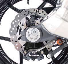 Rear Caliper Support (Brembo 2P & Standard Rotor Diameter Correspondence )