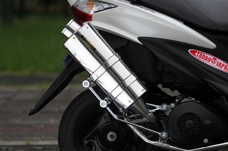 【SP忠男】Pure Sport 不鏽鋼全段排氣管 (Silent Version) - 「Webike-摩托百貨」