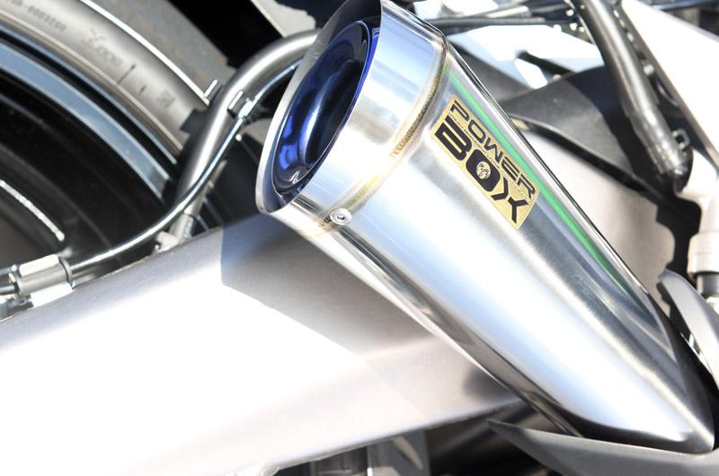 【SP忠男】Power Box (Megaphone) 鈦合金全段排氣管 - 「Webike-摩托百貨」