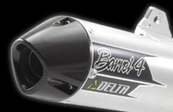 【DELTA】Barrel 4 Mini 全段排氣管 - 「Webike-摩托百貨」