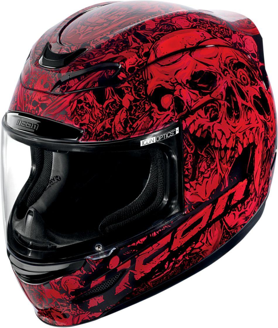 【ICON】HELMET PARAHUMAN RED 安全帽 - 「Webike-摩托百貨」