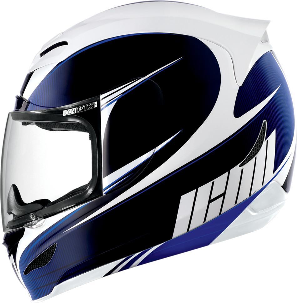 【ICON】HELMET AM SALIENT BLU 安全帽 - 「Webike-摩托百貨」