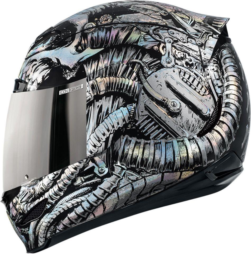 【ICON】HELMET AM BIOSKULL 安全帽 - 「Webike-摩托百貨」